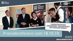 Pressekonferenz der Ralf Rangnick Stiftung vom 18.10.2019 (Langversion)