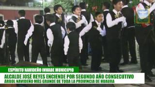 ENCENDIDO DEL ARBOL NAVIDEÑO TRADICIONAL EN LA CAMPIÑA, ASI INICIA LA NAVIDAD