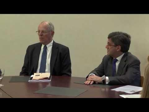 Reunión con el presidente del BID, Luis Alberto Moreno