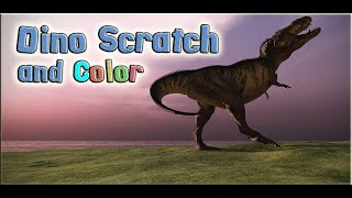 Dino Scratch and Color for Kids: App Gameplay Video