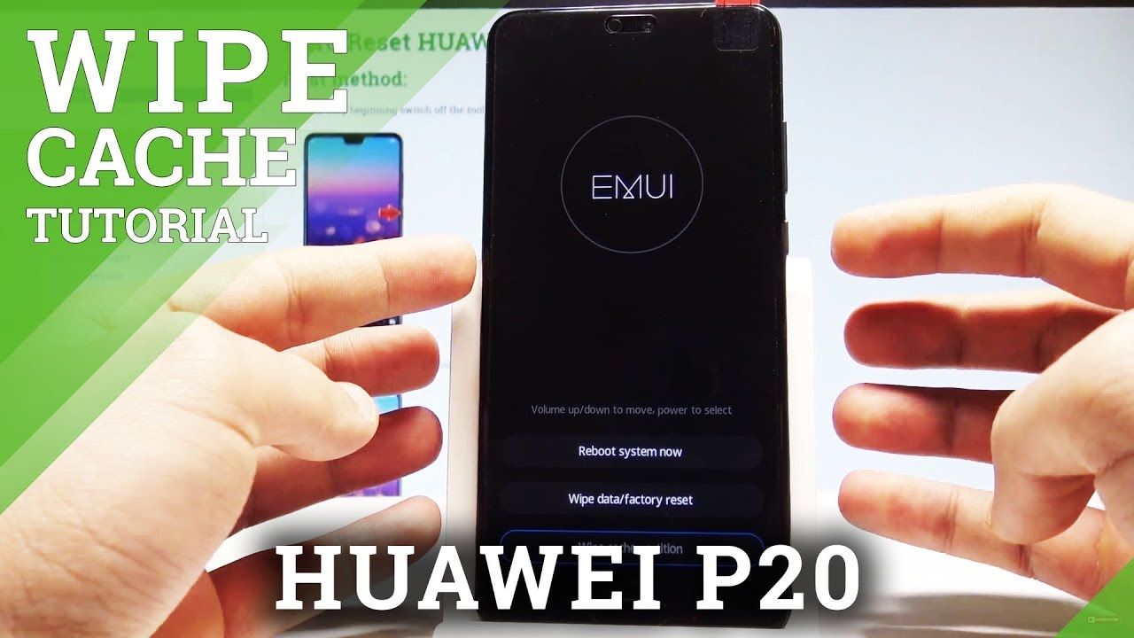 How to Wipe Cache Partition in HUAWEI P20 - Clean Up EMUI |HardReset Info
