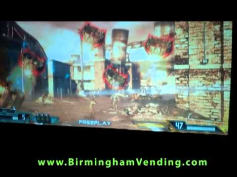 Raw Thrills Terminator Salvation Super Deluxe by Birmingham Vending mpg