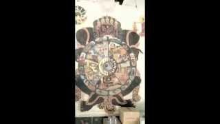 you see Buddha tantra veda -6 : Paticcasamuppada behind Buddha image