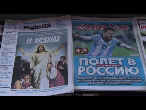 Argentina praises Messi after qualifying for Russia 2018