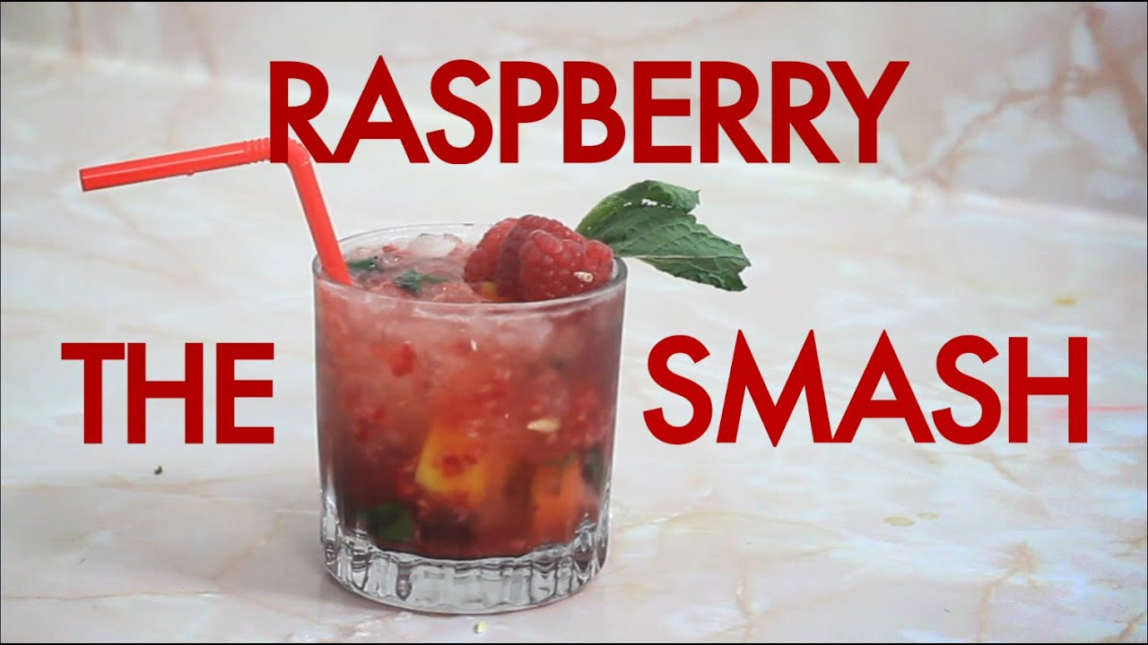 How to make a raspberry bourbon smash drinks made easy for Easy to make drinks