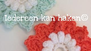 Bloem Haken Crochet Flower Video Más Popular
