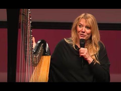 Download Youtube: Floraleda plays a contemporary harp | Floraleda Sacchi | TEDxLakeComo