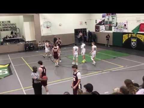 Clarksville at Waterloo Christian School HS Boys - John Zwack's 50 Point Game