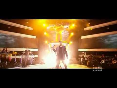 The Voice Australia 2013:Diamonds:Ricky Martin,Seal,Delta Goodrem & Joel Madden