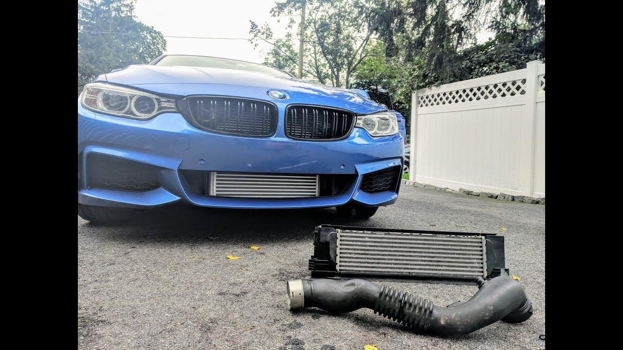 Bmw F32 N55 435i Intercooler Charge Pipe Install Fmic Fits 1 2 3