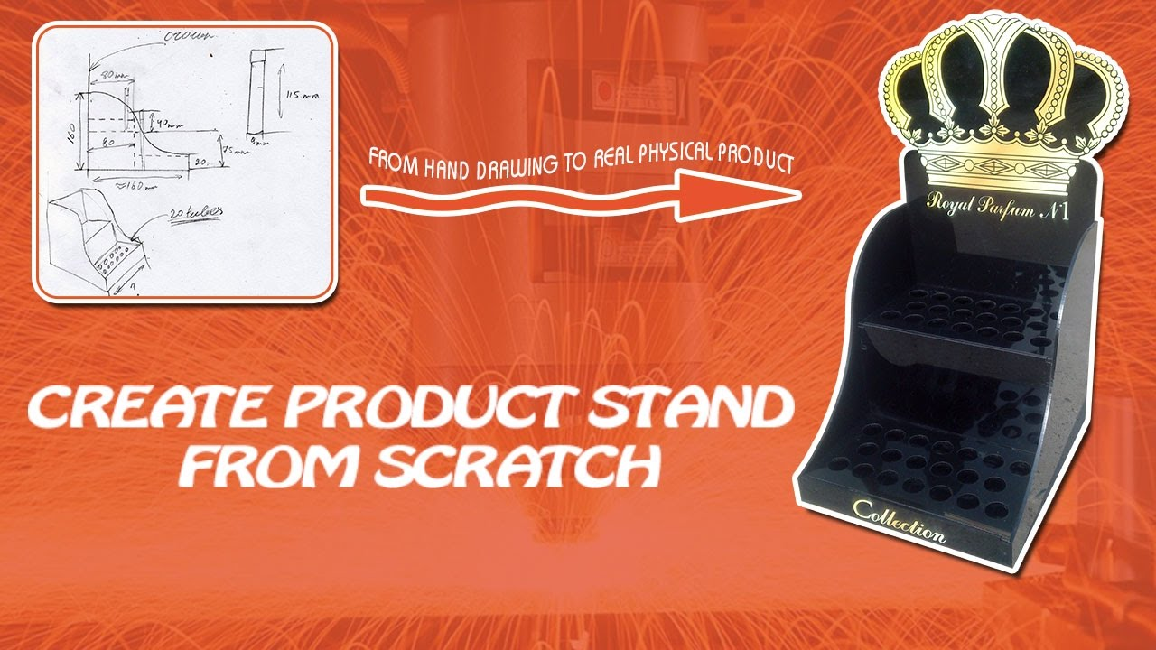 Product stand creation from scratch video course