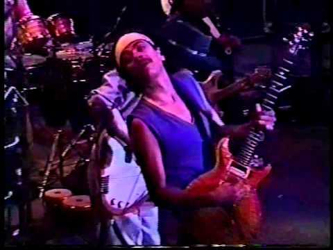 Carlos Santana, Jimmy & Stevie Ray Vaughan   Live In California 1988   part3
