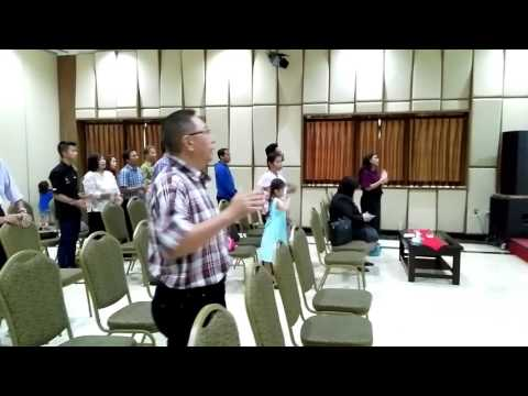 GKRI EL GIBOR 12 Februari 2017 BESARKAN NAMA TUHAN, KUKALAHKAN MUSUH DAN MELOMPAT TEMBOK