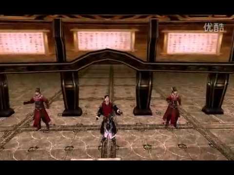 长衣袖 剑网3 逍遥视频 金山游戏官æ