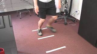 Falls prevention, osteoporosis and the agility ladder.