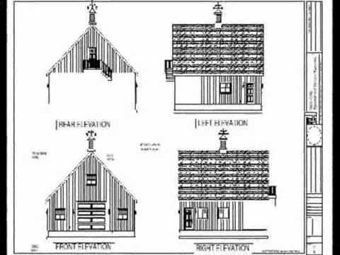 36x36 10 39 sides garage plan blueprint youtube for 36x36 garage