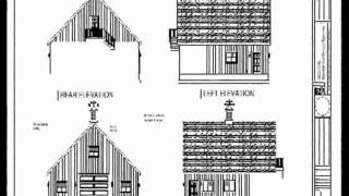 36x36-10' Sides Garage Plan Blueprint