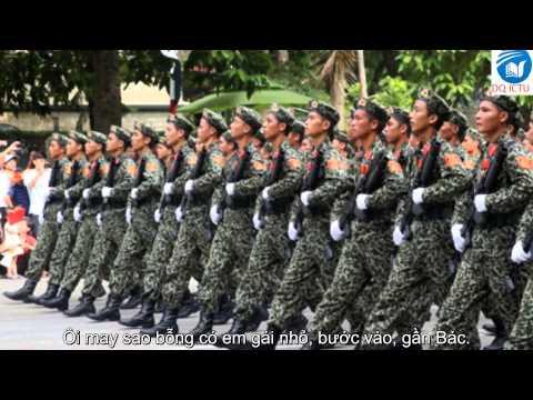 Lời Bác Dặn Trước Lúc Đi Xa - Thu Hiền ♥♪ [Video HD Lyric Duy Quang Ictu] ♥♪