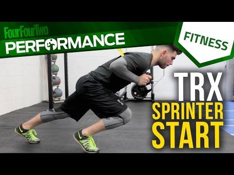 Pro level training | How to do TRX sprinter start exercise