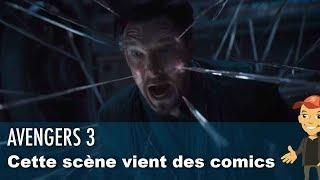 La torture du DOCTOR STRANGE dans AVENGERS 3 vient des COMICS !
