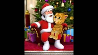 Talking Santa meets Ginger hat happy new year