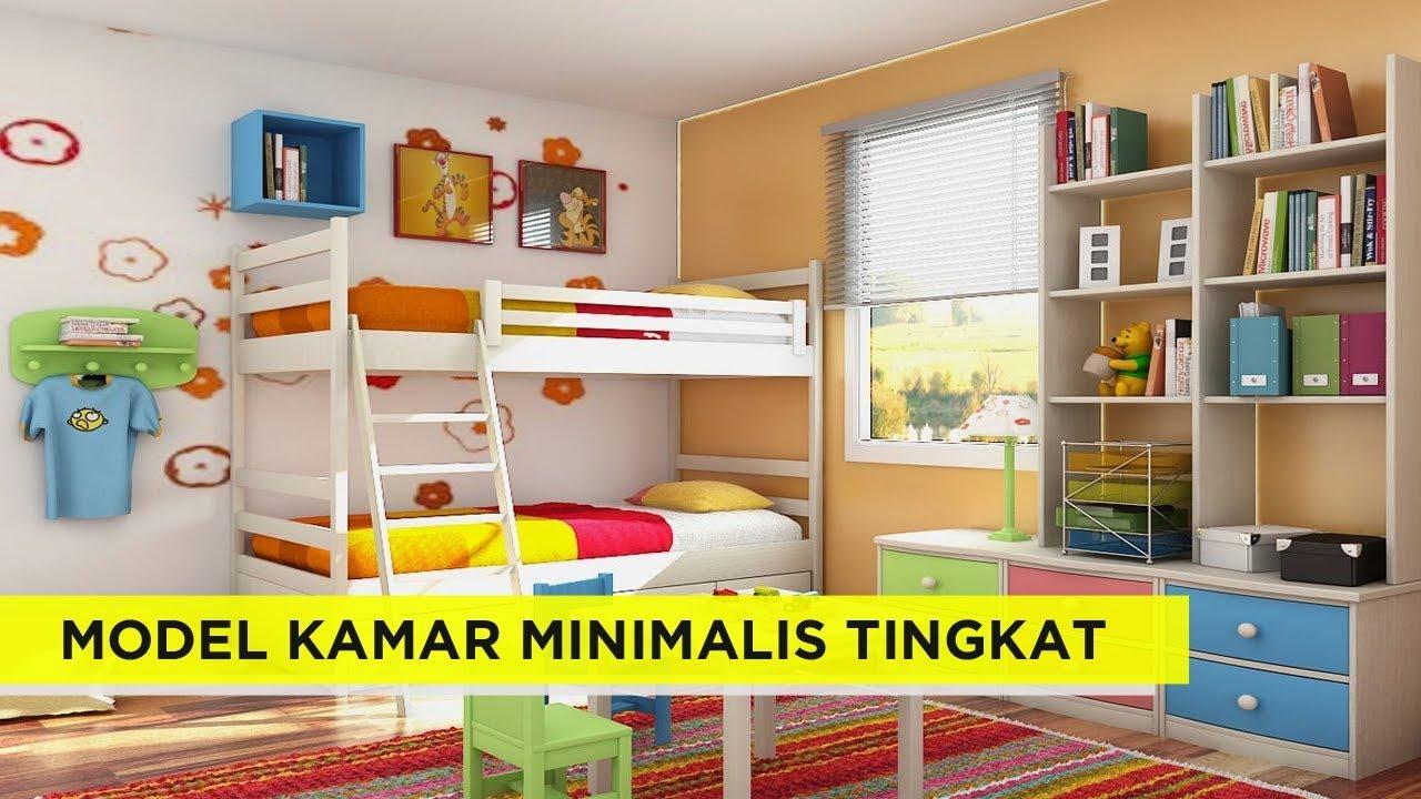 17 Inspirasi Model Kamar Tidur anak Tingkat minimalis ...