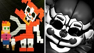 Five Nights at Freddy s Sister Location Secret Baby Minigame Story