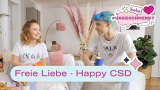 Liebe ohne Grenzen - Happy CSD 💕🌈