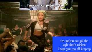 Gwen Stefani- Rich Girl.(Lyrics+SubEspañol)