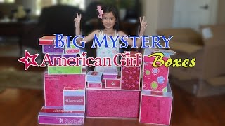 Big Mystery American Girl Boxes Just Arrived!