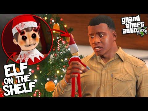 ELF ON THE SHELF has RETURNED to GTA 5