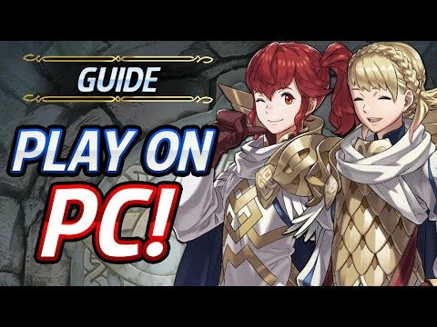 Fire Emblem Heroes - How to play it on PC using NOX,Easy Re-Rolls & Fix 3001 Error code permanently!