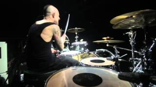 FRANK ZUMMO DRUM SOLO' SUM 41 UK TOUR 2016 FILMED BY IAN COULSON @T...