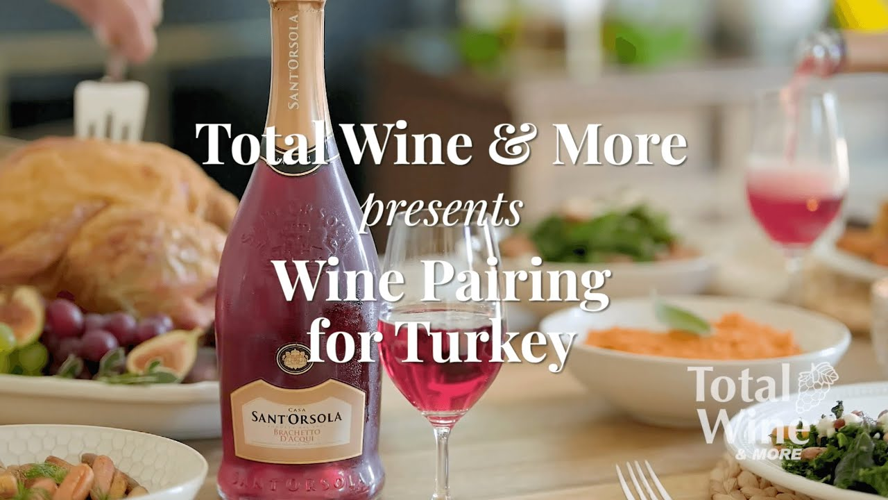 what kind of wine goes with turkey