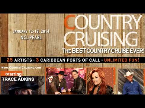 Trace Adkins and Country Stars team up for a Country Cruise aboard Norwegian Pearl