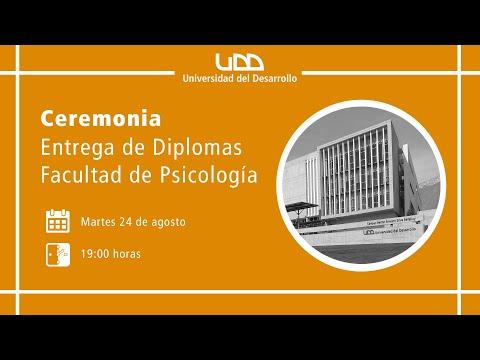 Ceremonia Entrega de Diplomas   Facultad de Psicología