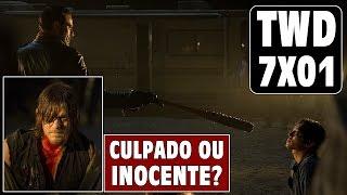 Daryl é culpado pela morte do Glenn?! - 7X01 - TWD