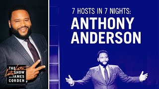 7 Hosts In 7 Nights: Anthony Anderson