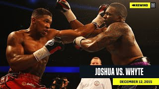 FULL FIGHT | Anthony Joshua vs. Dillian Whyte (DAZN REWIND)