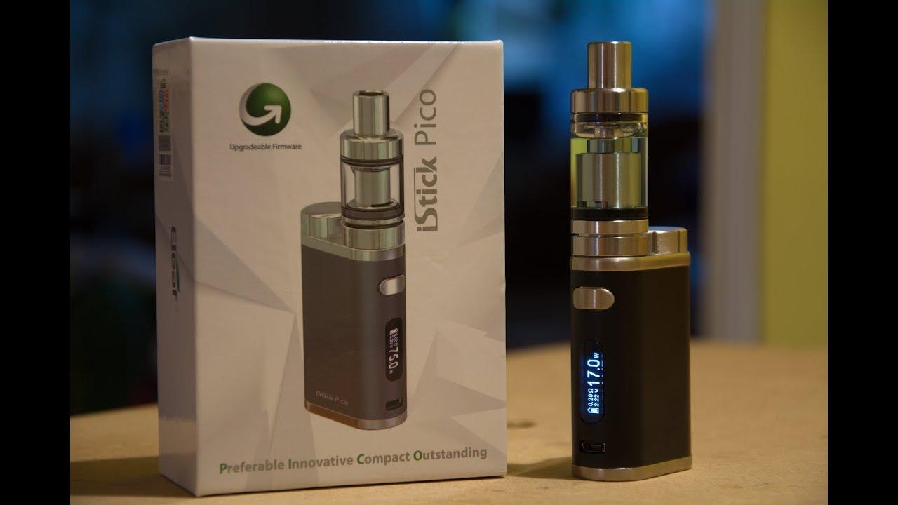Eleaf Istick Pico Kit 1W-75W Box Mod + Melo 3 Atomizer unboxing (from  ALIEXPRESS)