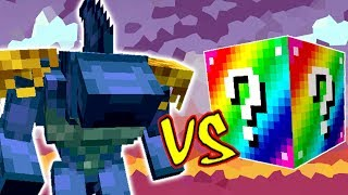 TUBARÃO MONSTRO VS. LUCKY BLOCK (MINECRAFT LUCKY BLOCK CHALLENGE SHARKO)
