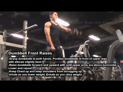 KeepItPushingAthletics Shoulder workout routine