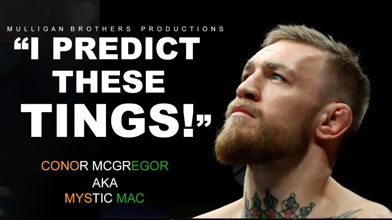Connor Mcgregor Quote Wallpaper Mystic Mac The Show Begins Conor Mcgregor Motivation