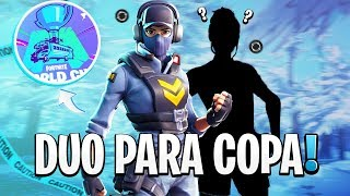 MEU DUO PARA A COPA DO MUNDO - FORTNITE