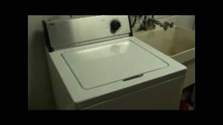 Death Metal Drumming Washing Machine