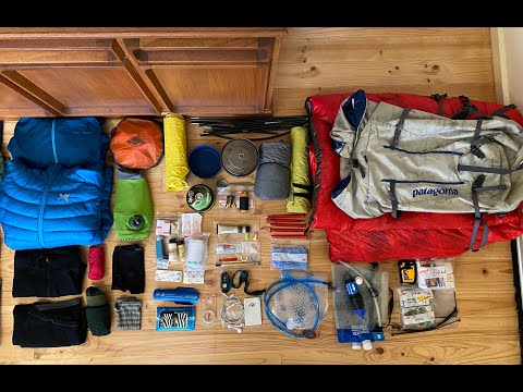 What's In My Pack: Packing For An Overnight Hike/bushwalk. Hiking Gear And Equipment In My Backpack