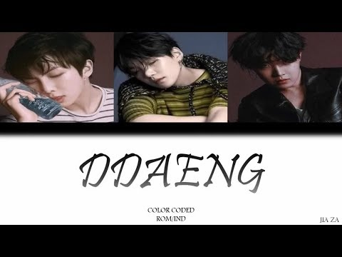 RM, SUGA, JHOPE - BTS �NG'  Lirik {Color Coded-Rom-Ind} Sub indo