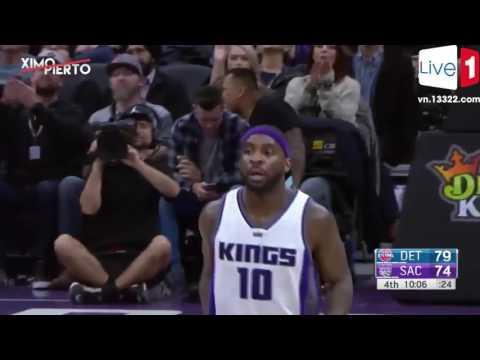 Detroit Pistons vs Sacramento Kings - Full Game Highlights ► January 10, 2017 ► 2016-17 NBA Season