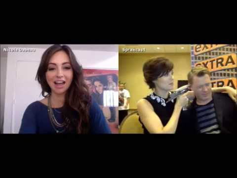 Megan Boone & Diego Klattenhoff  Extra Live Chat