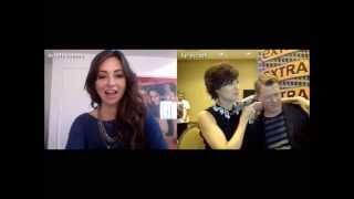 Megan Boone & Diego Klattenhoff - Extra Live Chat